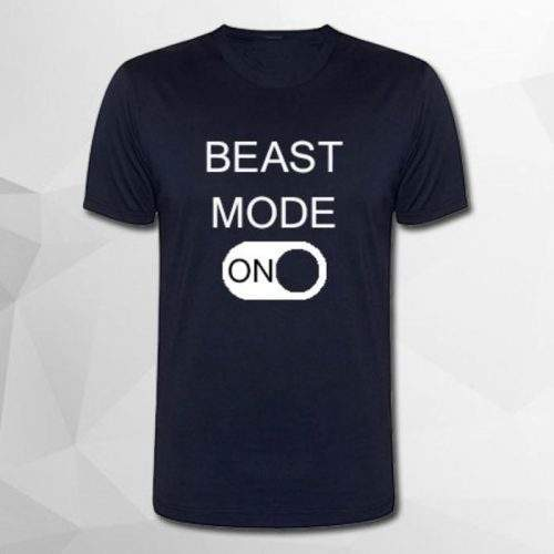 BEAST MODE ON (BLUE,POLYSTER)