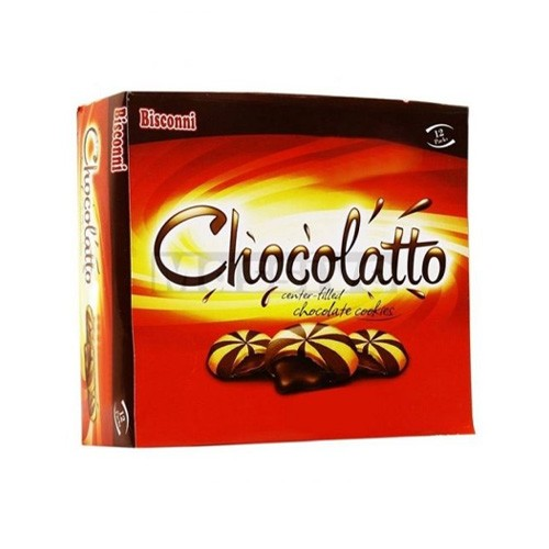 BISCONNI CHOCOLATTO TICKY PACK (PACK OF 12)
