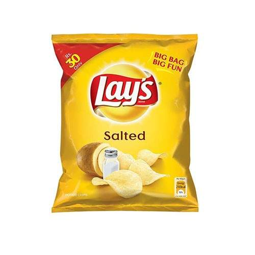 LAYS SALTED CHIPS (38 GMS)