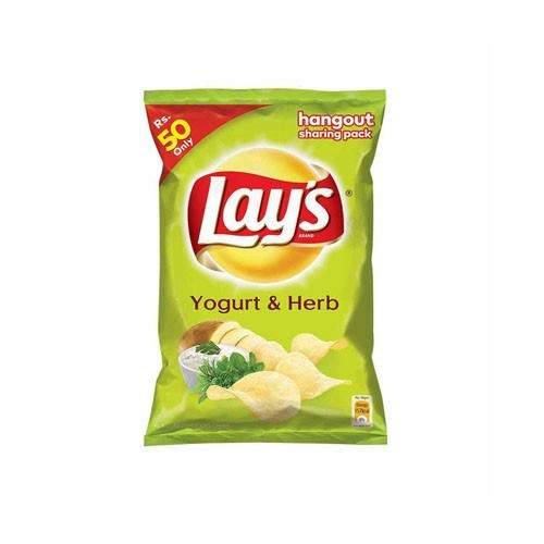 LAYS YOUGURT AND HERB CHIPS (PARTY PACK)