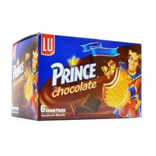 LU PRINCE CHOCOLATE BISCUIT - HALF ROLL (PACK OF 6)