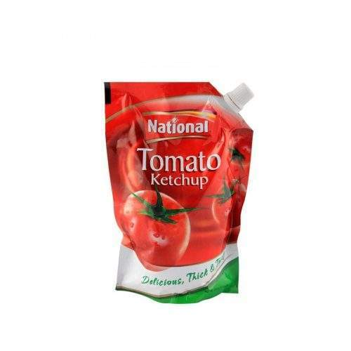NATIONAL TOMATO KETCHUP POUCH (500 GMS)