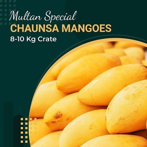 SPECIAL EXPORT QUALITY MULTANI CHAUNSA MANGOES CRATE (8-10 KG)