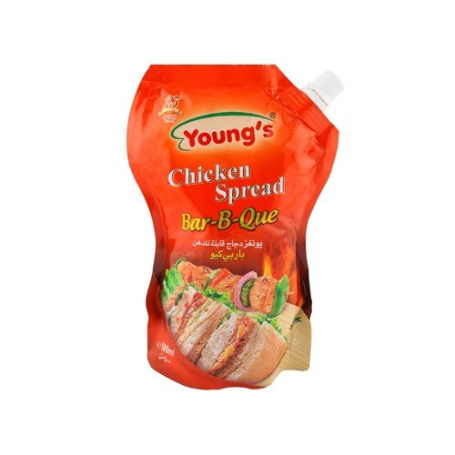 YOUNGS CHICKEN SPREAD BAR-B-QUE POUCH (500 ML)