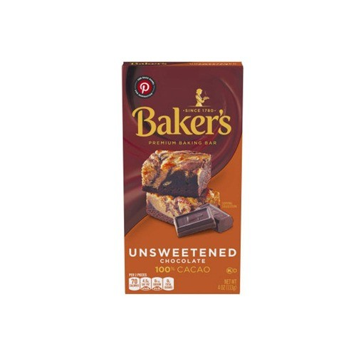 BAKERS CHOICE UNSWEETENED CHOCOLATE (500 GMS)