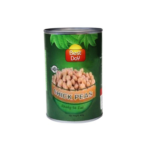 BEST DAY CHICK PEAS - READY TO EAT (400 GMS)