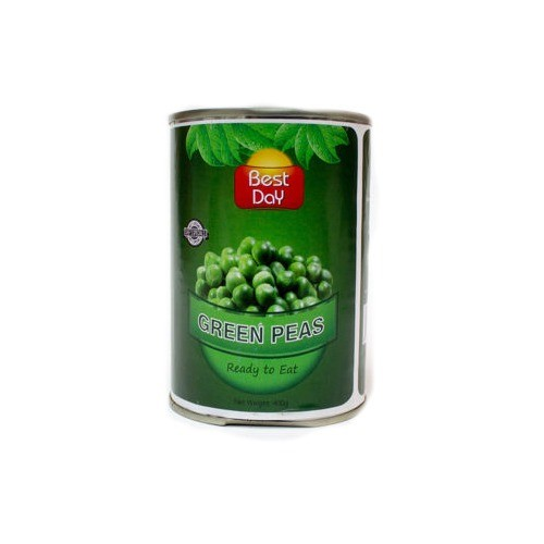 BEST DAY GREEN PEAS - READY TO EAT (400 GMS)