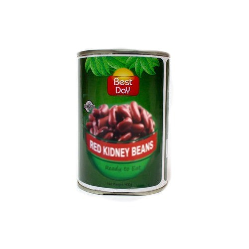 BEST DAY RED KIDNEY BEANS - READY TO EAT (400 GMS)