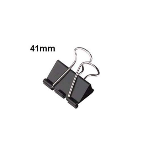 CHINA BINDER CLIP 41MM (PACK OF 12)