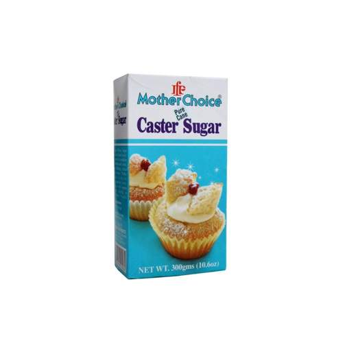 MOTHER CHOICE EXTRA FINE CASTER SUGAR (300 GMS)