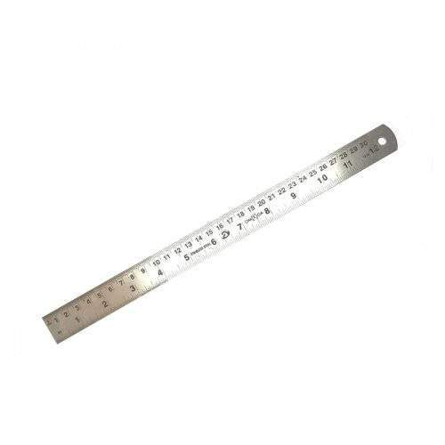 STAINLESS STEEL SCALE (12 INCH)