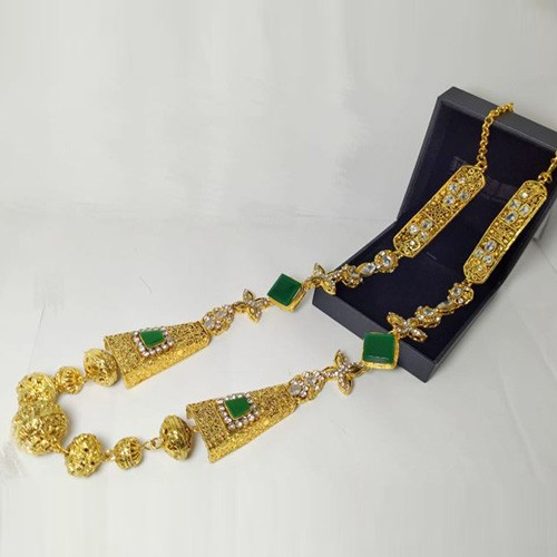 EGYPTIAN STYLE MALA GOLD COLOR WITH BOX