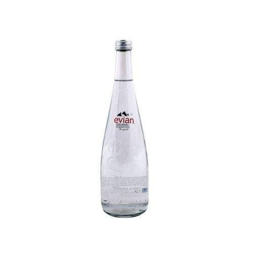 EVIAN MINERAL WATER 750 CL