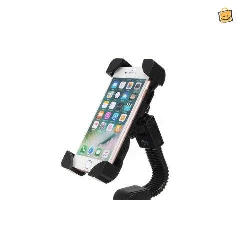 MOBILE HOLDER FOR BIKES AND CYCLES - BLACK