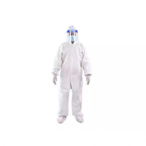 PPE KIT FULL WITH MASK FACE SHIELD GLOVES