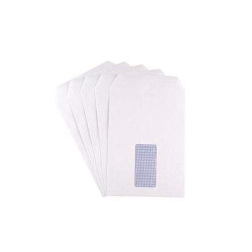 SIGMA WHITE ENVELOPE WITH WINDOW POCKET - 9 X 4 (PACK OF 50)