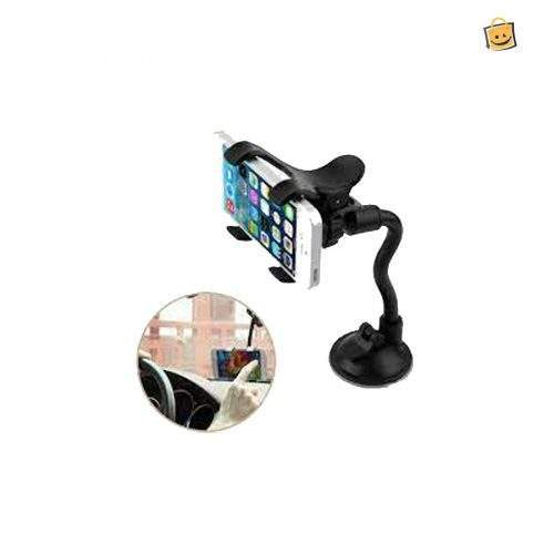 UNIVERSAL WINDSHIELD CAR PHONE STAND SUPPORT SUCTION CUP STENT MOUNT WINDOW STICK SMARTPHONE MOBILE PHONE HOLDER
