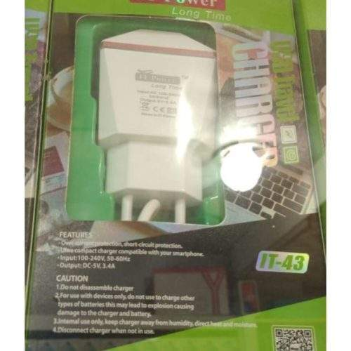 USB TRAVEL CHARGER IT 43