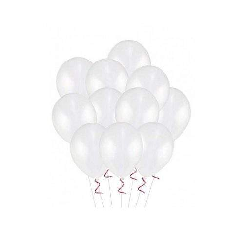 WHITE BALOON (PACK OF 50)