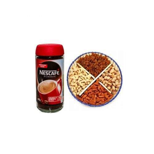 WINTER COMBINATION OF DRY FRUITS WITH NESCAFE COFFEE