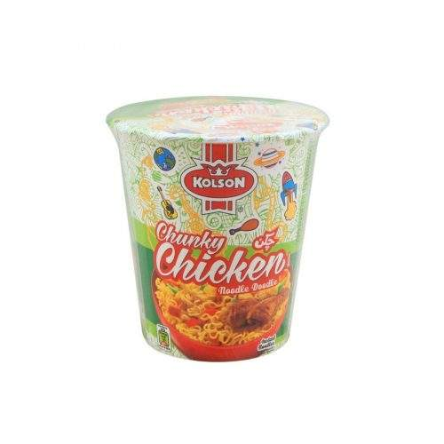 KOLSON CHUNKY CHICKEN NOODLE CUP (50 GMS)