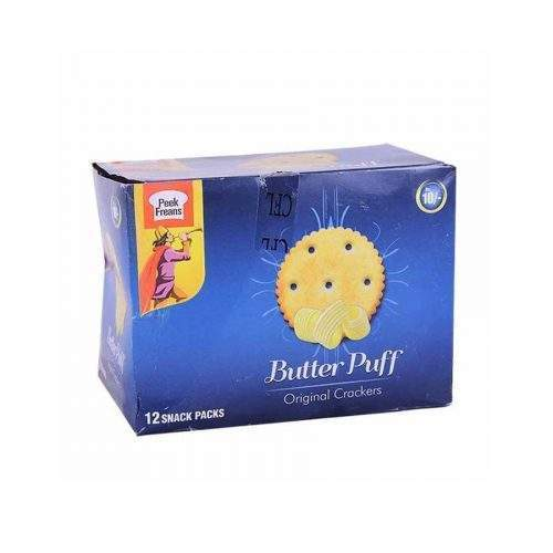 PEAK FREANS BUTTER PUFF BISCUITS (SNACK PACK X 12)