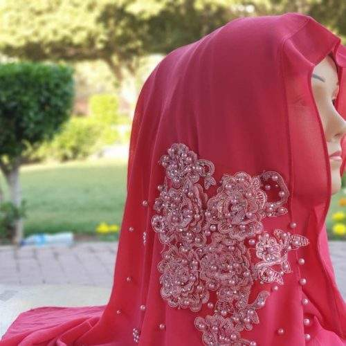 ONE LOOP HIJAB (INSTANT BUNCHED) - PINK