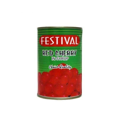 FESTIVAL RED CHERRY IN SYRUP