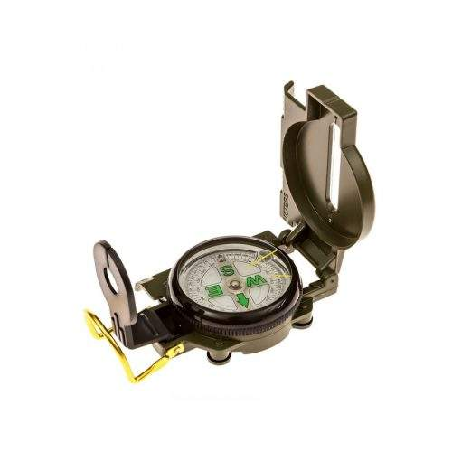 MILITARY MARCHING METAL LENSATIC COMPASS