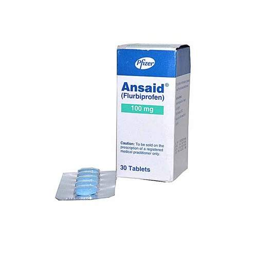 ANSAID TABLETS - PACK OF 30 (100 MG)