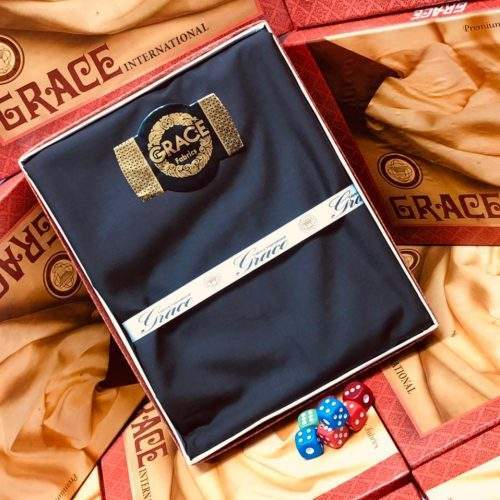 GRACE WASH N WEAR GENTS COLLECTION - NAVY