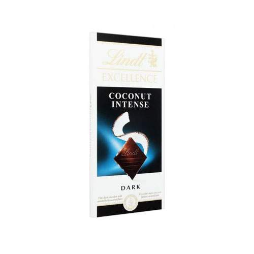 LINDT EXCELLENCE COCONUT INTENSE DARK CHOCOLATE (100 GMS)