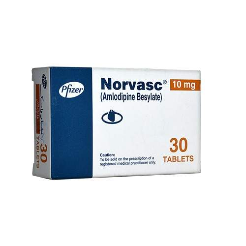 NORVASC TABLETS – PACK OF 30 (10 MG)