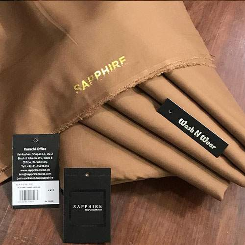 SAPPHIRE PREMIUM QUALITY WASH N WEAR GENTS COLLECTION - BROWN