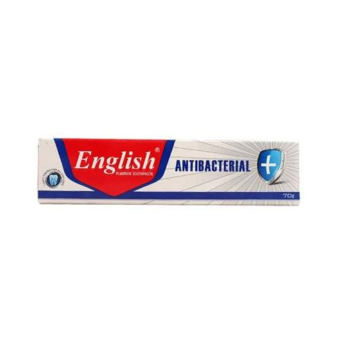 ENGLISH ANTIBACTERIAL TOOTHPASTE (70 GMS)