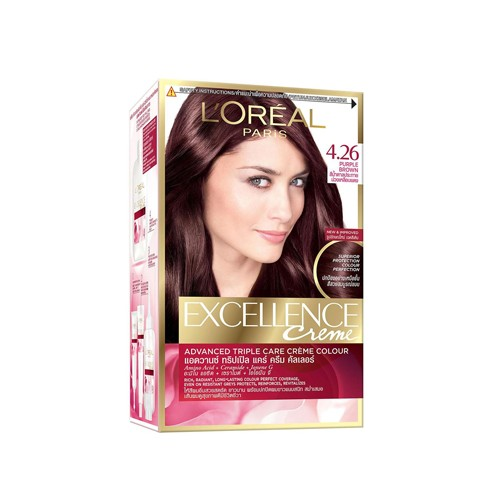LOREAL EXCELLENCE HAIR COLOR 4.26