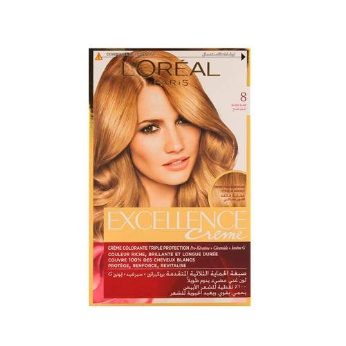 LOREAL EXCELLENCE HAIR COLOR NO.8