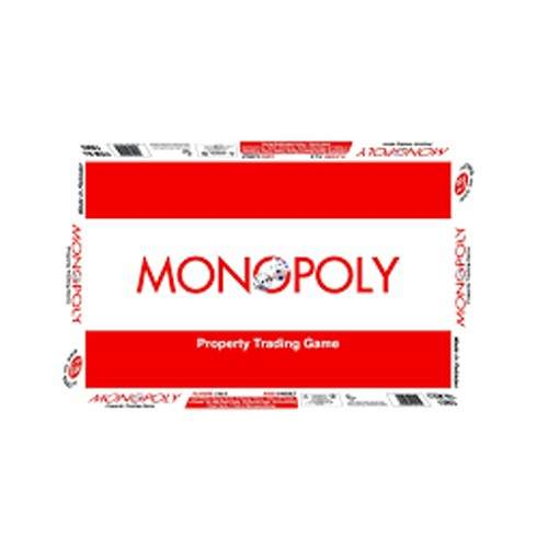 MONOPOLY REAL ESTATE TRADING GAME SET - SMALL BOX
