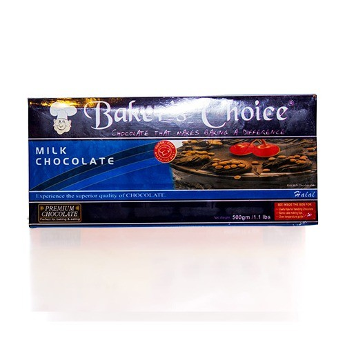BAKERS CHOICE CHO-CHIP CHOCOLATE (500 GMS)