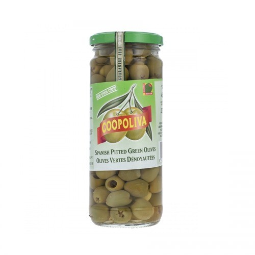 COOPOLIVA SPANISH PITTED GREEN OLIVE (235 GMS)