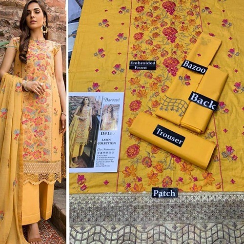 2PC MID SUMMER LAWN COLLECTION (MB-07)