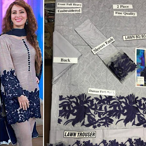 2PC MID SUMMER LAWN COLLECTION (MB-16)