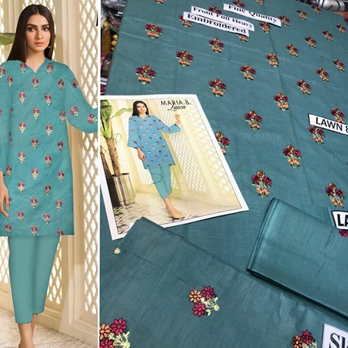 2PC MID SUMMER LAWN COLLECTION (MB-22)