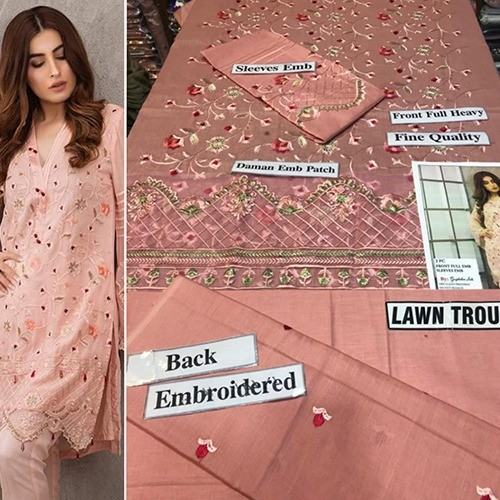 2PC MID SUMMER LAWN COLLECTION (MB-23)