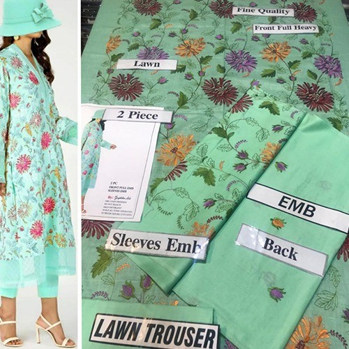 2PC MID SUMMER LAWN COLLECTION (MB-27)