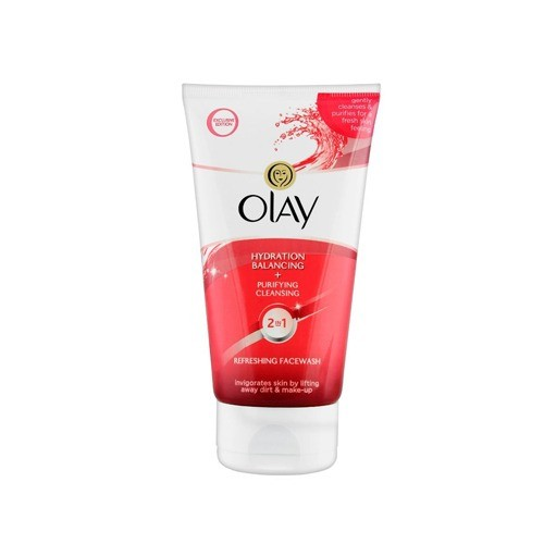 OLAY FACE WASH HYDRATION BLANCING 2IN1 (150 ML)