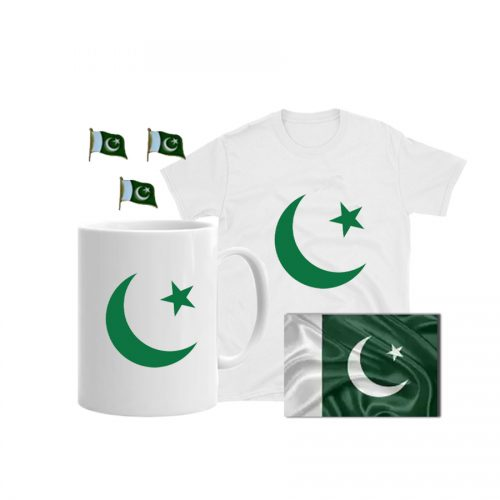PAKISTAN STAR AND CRESCENT COMBO GOODIE BAG