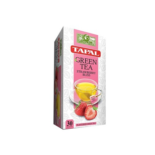 TAPAL GREEN TEA STRAWBERRY (30 TEABAGS)