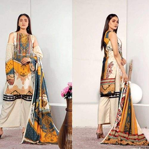 3PC COCO BY HANIA SHAMRAY COLLECTION (HS-01)