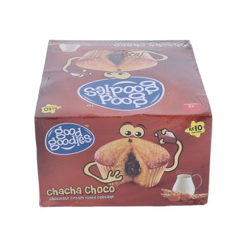 GOOD GOODIES CHACHA CHOCO CUP CAKE (PACK OF 12)
